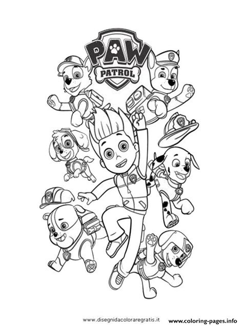 paw patrol ryder coloring pages to print paw patrol ryder and the dogs coloring pages printable
