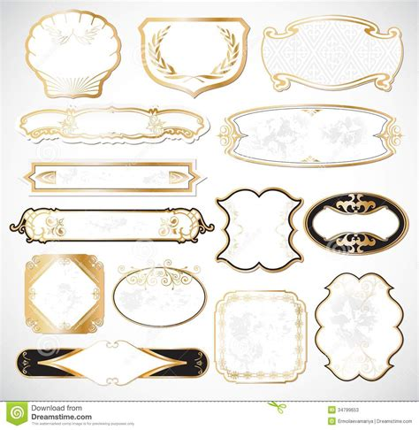 decorative label templates free 19 fancy label vector images free decorative labels fancy frame label template and free