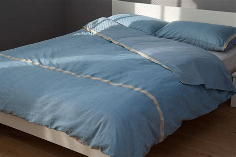 Blue Quilt Cover Blue Cotton Duvet Cover Bed Company