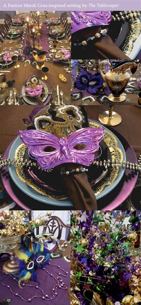 mardi gras table decorations bring mardi gras revelry to your rehearsal tables