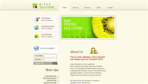 html psd templates 15 creative and awesome psd to html templates for free