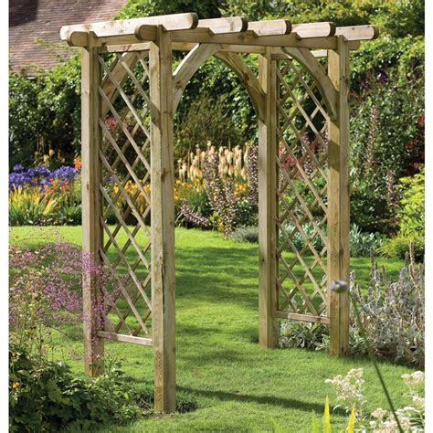 garden arch plans sturdy square top wooden garden rose arch pergola