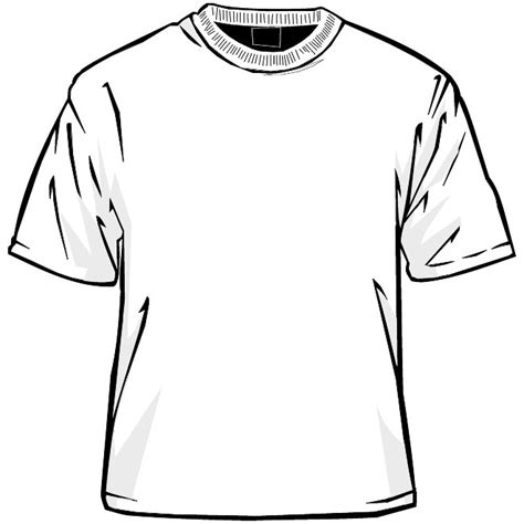 T Shirt Template Vector by T Shirt Template Vector At Vectorportal