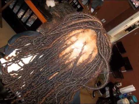 dreadlocks thinning at the root happy 2b nappy show dread locs surgery doovi