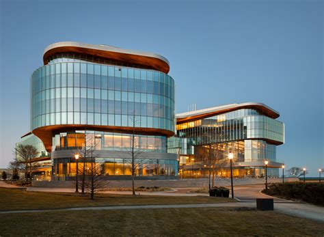 """Northwestern adds another glassy """"Global Hub"""" to its campus Archpaper.com"""