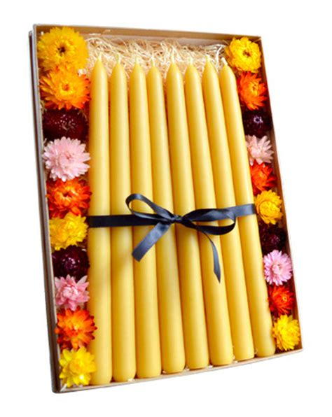 Handmade Candles Wholesale Uk - beeswax candles handmade by gold black in the uk