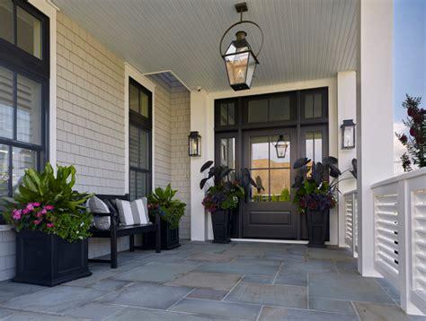 Front Door Flooring Seaside Shingle Coastal Home Home Bunch Interior Design Ideas