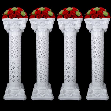 The Decorative Top Of A Column by Wedding Decorative Plastic Column Height Adjustable
