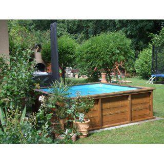 Gartengestaltung Ideen 4082 by Mini Holzpool Mit Poolabdeckung 2 X 2 M