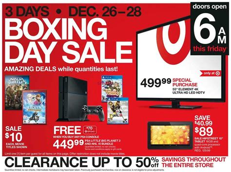 Target Gift Card Sale 2017 - sales flyers target boxing week flyer 2014 deals sales target boxing day flyer km