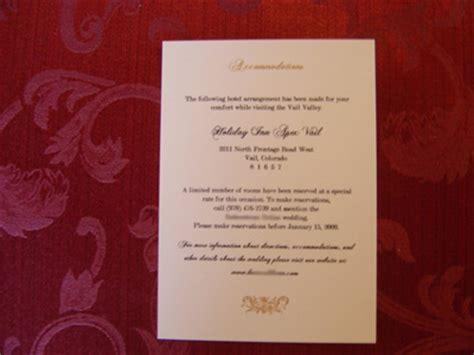 hochzeitseinladung einlegeblatt the invite accommodations insert