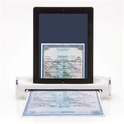 iconvert portable scanner  ipad gadgetsin