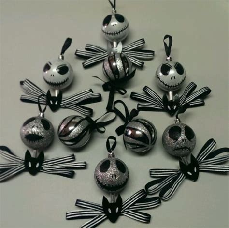 handmade nightmare before christmas ornaments jack