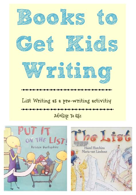 Writing Activity Book early writing activity with books list adalinc to