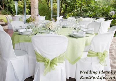 White and Green Wedding Table Decoration   Knot For Life