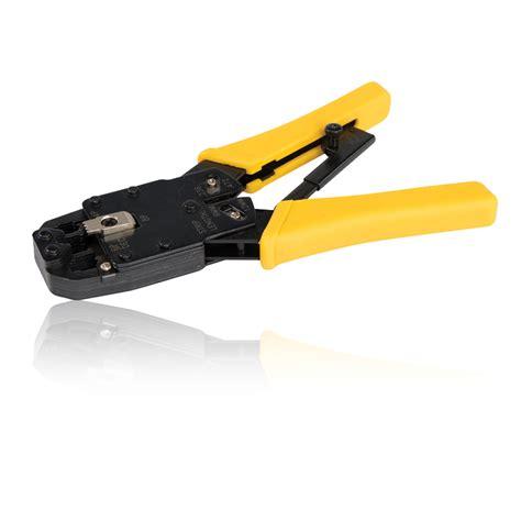 Crimping Tools Rj11 ratchet crimper rj45 rj11 crimping tool crimps 8p8c