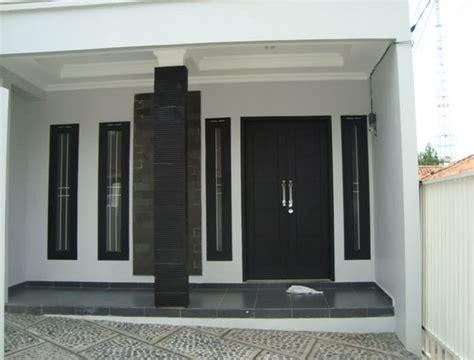 Desain Tiang Dan Keramik Teras Rumah Minimalis 2016