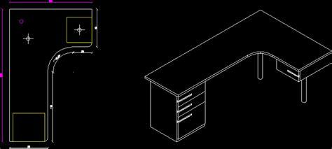 escritorio autocad planos de escritorio isometrica en perspectivas