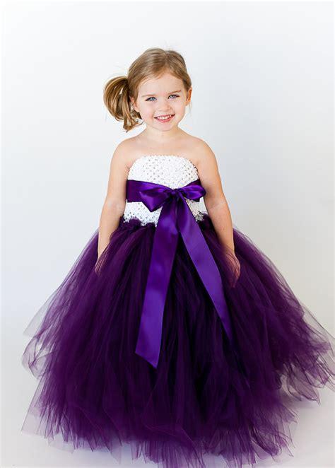 purple and white flower  tutu dress 2014   TrendyOutLook.Com