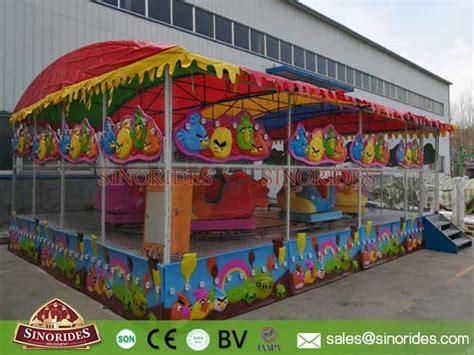 Carousel Bike Froggy Hijau list of amusement rides sinorides