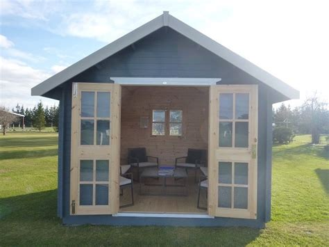 she shed cost wooden garden sheds nz by sheshed summer house shed