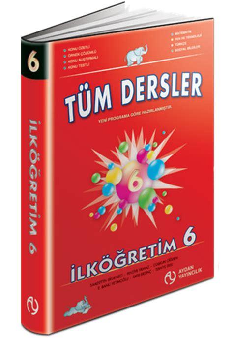 tm kategoriler kitapyurducom 6 snf tm dersler konu anlatml aydan yaynlar 9789756716083
