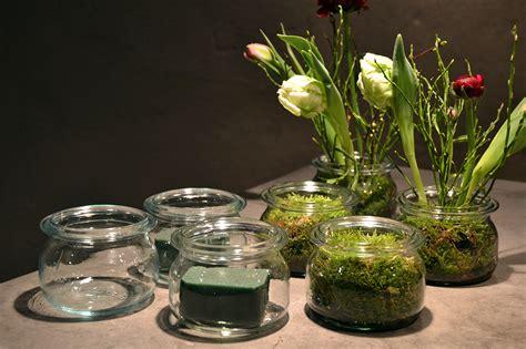 Tischdeko Blumen Im Glas by Diy Tischdekoration Fr 252 Hling Villa Rosengarten Weblog