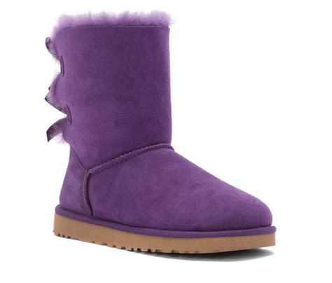 ugg australia s bailey bow boot color bilberry boots
