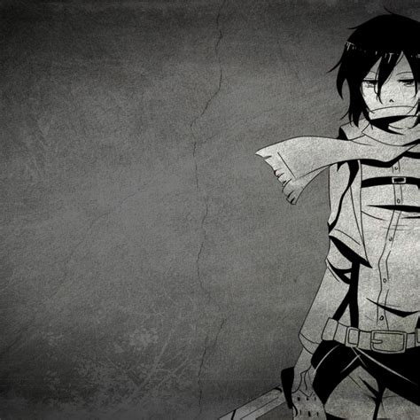 wallpaper anime sad hd black and white anime girl sad anime girl 4k hd