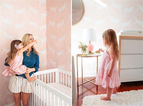 Emily Henderson Nursery a pink bunny nursery with target amp emily henderson green