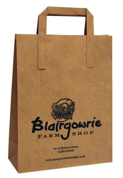 Paperbag Print printed carrier bags from midpac and packaging lincs from 1000 bags polythene or 250 bags paper