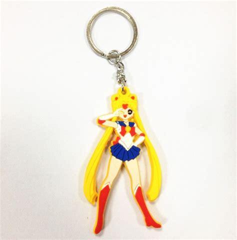 Anime Keychains by Sailor Moon Tsukino Usagi Japanese Anime Character