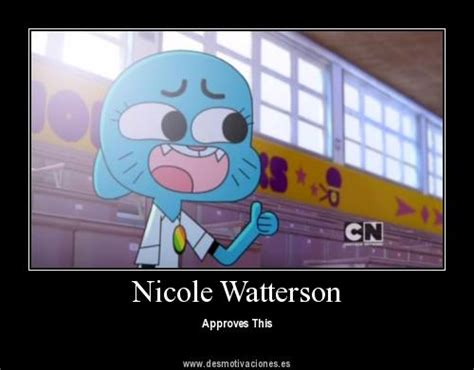nicole watterson meme the amazing world of gumball