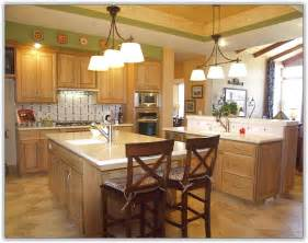 Kitchen With Light Oak Cabinets by Kitchen Design Ideas Light Cabinets Home Design Ideas