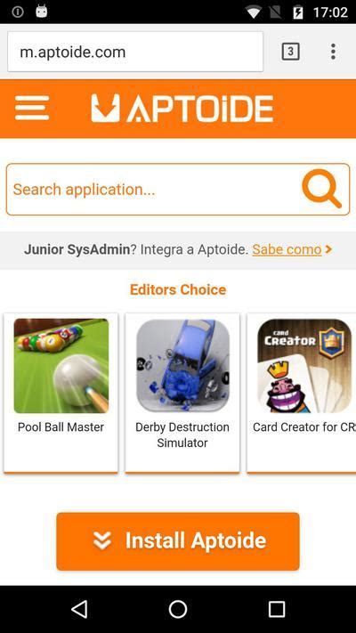 aptoide installer create your store on aptoide app aptoide