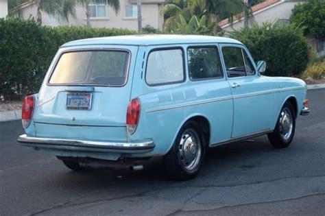 volkswagen squareback blue 1971 volkswagen squareback california car no reserve