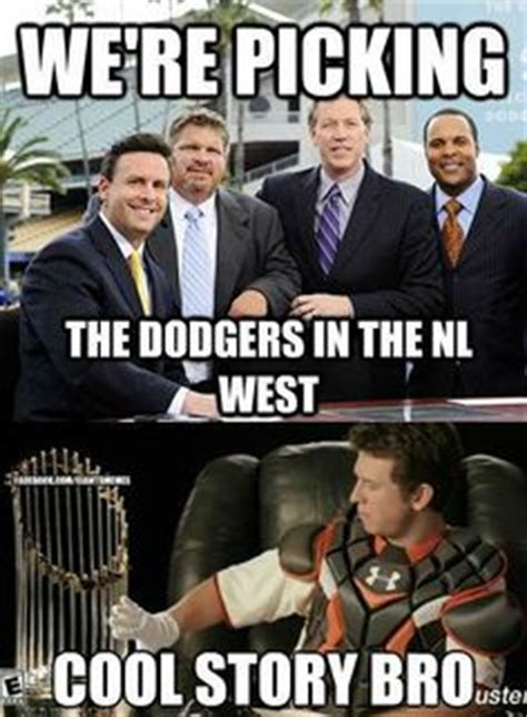 Dodgers Suck Meme - baseball on pinterest buster posey san francisco