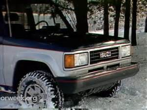 88 Isuzu Trooper Motorweek Retro Review 88 Isuzu Trooper Ii Doovi