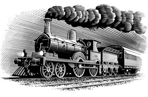 как нарисовать поезд карандашом поэтапно