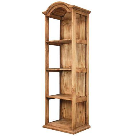 Narrow Shelf Rustic Pine Collection Narrow Bonnet Top Shelf Lib58