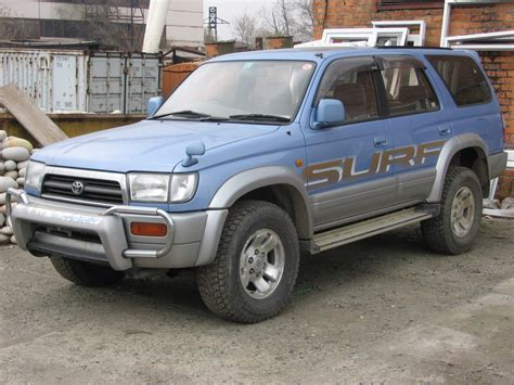 Toyota Sarf 1996 Toyota Hilux Surf Pictures 30000cc Diesel