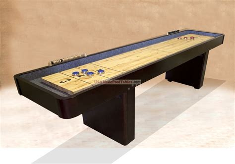 table shuffle board shuffleboard table pool table shuffleboard