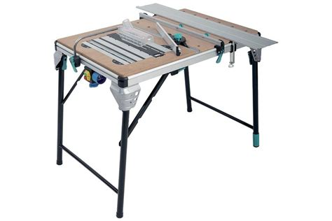 multi tool work table working table with support for circula saw and