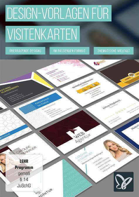 Grafik Design Vorlagen design vorlagen f 252 r visitenkarten tutkit