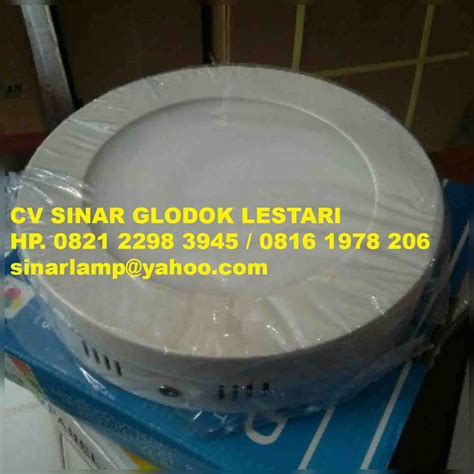 Led Panel Downlight 6w Bulat Terang Vosco Vcp 006 Daylight downlight led outbow
