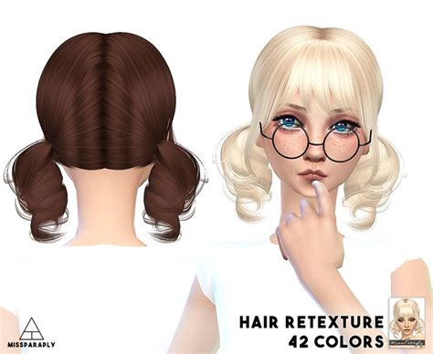 sims 4 short hair alessoahimiko missparaply short hair sims 4 sims