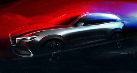 mazda all motors all new mazda cx 9 to debut at los angeles auto show