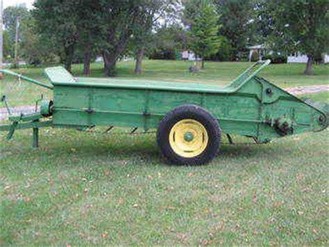 used farm tractors for sale: john deere manure spreader
