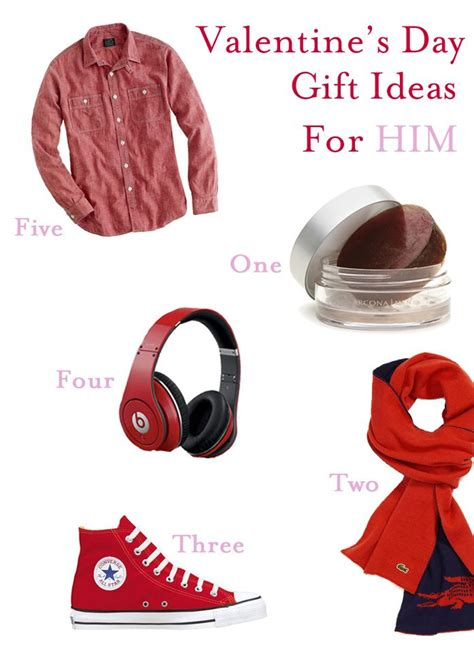 what get boyfriend for valentines day s day ideas for him