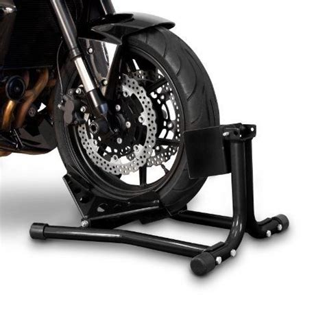 Motorrad Montagest Nder Constands by Constands Motorcycle Paddock Stand Wheel Chock Easy Black